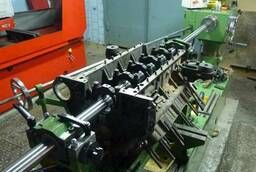 Boring of camshaft beds. russian